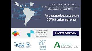 Webinarios de la RIMAIS: Lecciones aprendidas en España