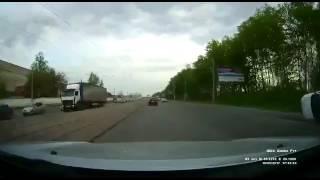Странная авария в Казани
