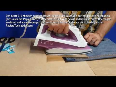 Schweizer Nähpulver - Textilkleber Nähfix - Das waschbare Bügelpulver