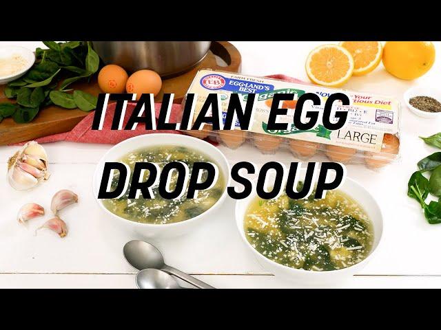 Stracciatella - Italian Egg Drop Soup
