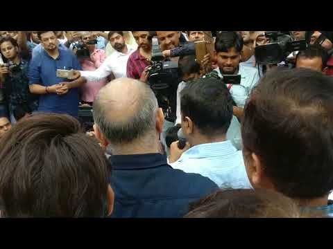 Delhi CM Arvind Kejriwal Ends his dharna Vows to take this Fight amongst every Delhiets