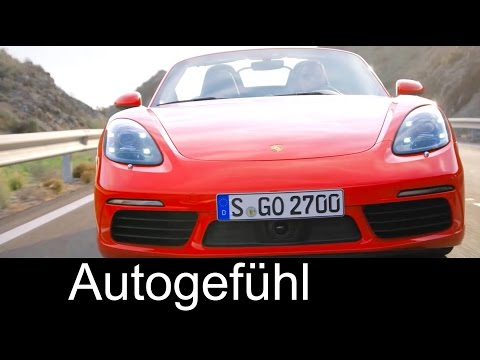 New Porsche Boxter 718 S First Trailer 2017 + exterior shots from Geneva Motor Show - Autogefühl