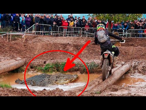 Dangerous & Funny enduro race!! PARODY | Funny moments | Enduroc 9th edition