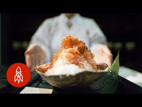 Shaved Ice in Japan is a Gourmet Experience