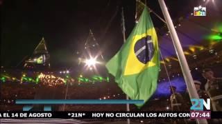 Inauguración Juegos Olímpicos Río 2016