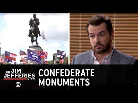 Boj o památníky Konfederace