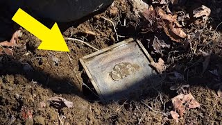 Couple Discovers Mysterious Box Buried In The Woods, Leaving Them Speechless