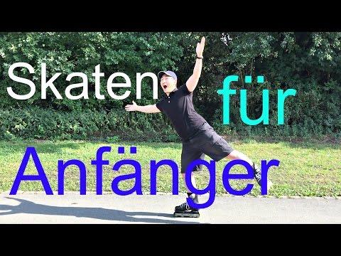 Inline Skaten lernen für Anfänger (dt. + engl. subs)