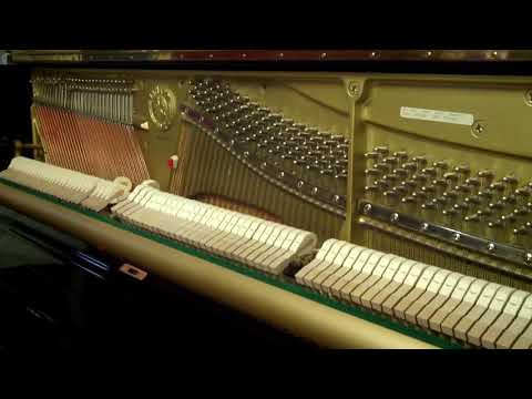 "0 - 1993 Yamaha U1 48""  professional Upright piano  Serial # 5135101"