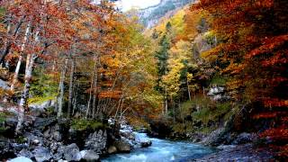 preview picture of video 'Otoño Casa Juaneta Broto Pirineo Aragonés'
