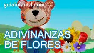 Adivinanzas para niños de flores, aprende con el Oso Traposo