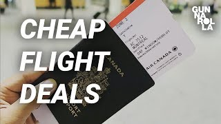 How To Find Cheap Flights! Booking Secrets with Google | Gunnarolla University