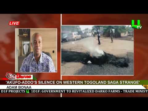 Akufo-Addo's silence on Western Togoland saga strange – Bonaa