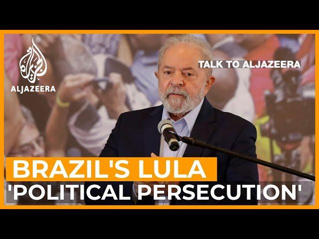 Lula: 'Brazil's businessmen should pray I return as president'   Talk to Al Jazeera