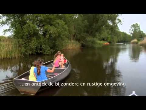 Fluisterbootjes & kano's bij Mölke Activiteiten
