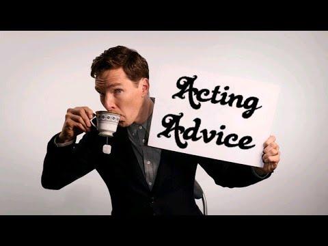 Benedict Cumberbatch Acting Advice (видео)