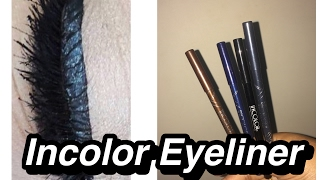 Review Of The INCOLOR GEL EYELINER PENCIL | DRUGSTORE |REENA