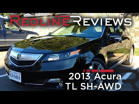 2013 Acura TL SH-AWD Review, Walkaround, Exhaust, Test Drive