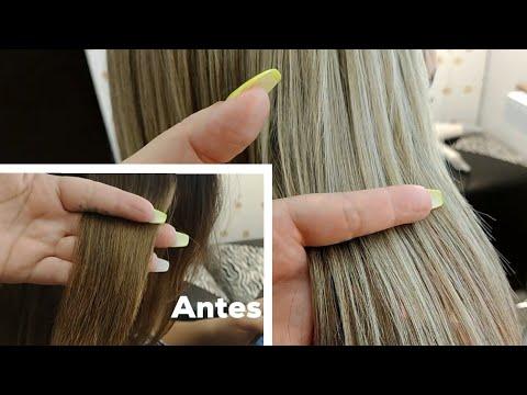 Mechas beige / Decoloración en cabello  maltratado / Lilyymakeuup