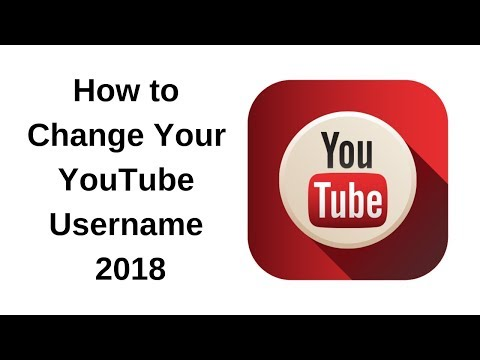 How do I Change My YouTube UserName