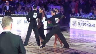 Dmitrii Semeshkin  & Karina Zadoyan Paso 1/4 Kremlin Cup Amateur Latin