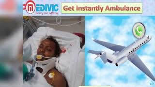 Get Air Ambulance Service in Indore and Bhopal by Medivic Aviation