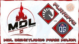 LIVE: Team Liquid vs OG / Bo3 / MDL Disneyland® Paris Major / Dota 2 Live