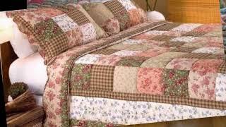 Красивые покрывала и одеяла лоскутное шитье