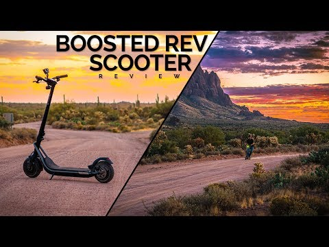 Best Way To Commute For Photo Shoots!   Boosted Rev Review