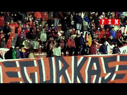 """Hinchada de Wilsterman en el Hernando Siles - Primera final frente a The Strongest"" Barra: Gurkas • Club: Jorge Wilstermann"