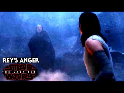 Star Wars The Last Jedi Trailer - Rey's Anger To Luke & More!