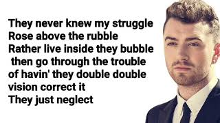 Sam Smith - Pray ft. Logic (Lyrics + Audio)