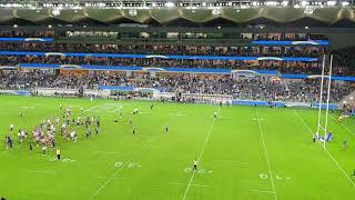 Parramatta Eels Club Song. Bankwest Stadium Opening Vs Wests Tigers. Easter Monday 22 April 2019.