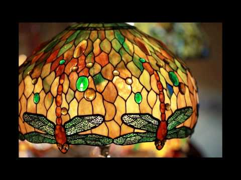 Эксклюзивные светильники в технике Тиффани