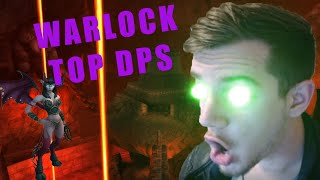 TOPPING DPS WITH WARLOCK IN CLASSIC!! (A PvE Classic WoW Warlock guide)