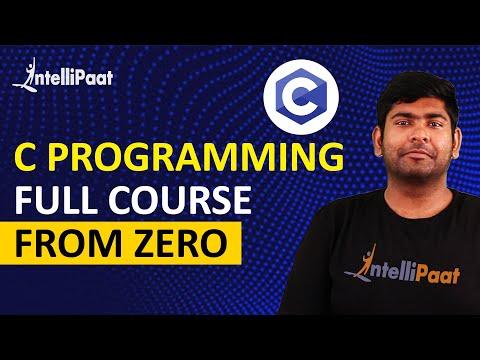 C Tutorial for Beginners   C Programming Tutorial   Intellipaat