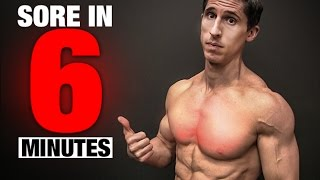 Chest Workout (SORE IN 6 MINUTES!) by ATHLEAN-X™