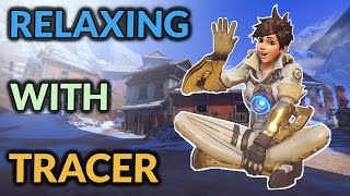 Overwatch: Relaxed = Focused Competitive Tracer Play!