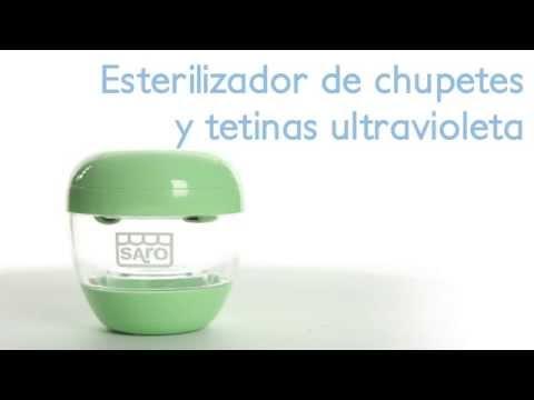 Esterilizador de tetinas y chupetes, UV