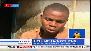 Kijana asalia na risasi mguuni baada ya kupigwa na risasi na polisi