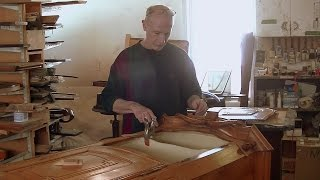 Restoring a Swiss Antique Cabinet