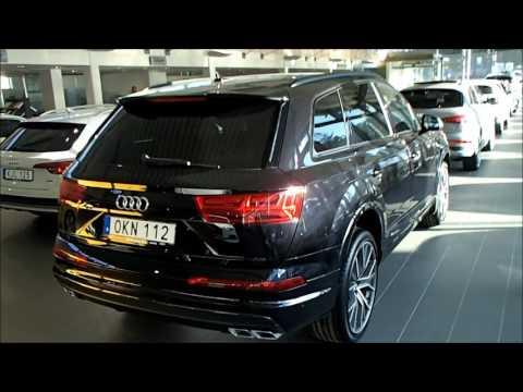 New Audi SQ7 4.0 TDI quattro tiptr  (Orca black with Titan black optics and 22 inch rims) walkaround