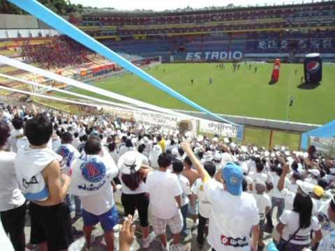 """""""Fasista vigilante"""" Barra: La Ultra Blanca y Barra Brava 96 • Club: Alianza"""