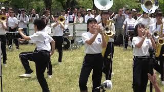 京都橘高等学校 吹奏楽部@ブラスエキスポ2019交歓コンサート(SingSingSing)