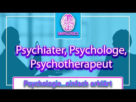 Unterschied: Psychiater, Psychologe und Psychotherapeut | Psychologie...einfach erklärt