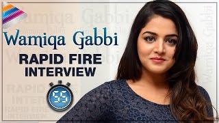 Wamiqa Gabbi Reveals her DREAM DATE | Rapid Fire with Wamiqa Gabbi | Interview | Telugu Filmnagar
