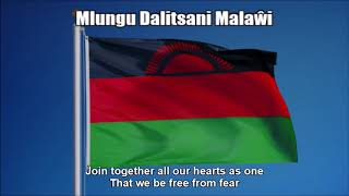 National Anthem of Malawi (Mlungu Dalitsani Malaŵi) - Nightcore Style With Lyrics