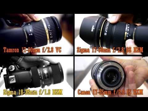 Fast zoom lens battle: Canon 17-55 f2.8, Sigma 18-35 f1.8, Tamron 17-50 f2.8 VC, Sigma 17-50 f2.8 OS