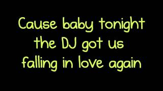 Dj Got Us Falling In Love Usher Lyrics Ft Pitbull