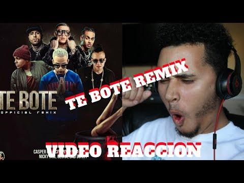 Te Bote Remix - Casper, Nio Garcia, Darell, Nicky Jam, Bad Bunny , Ozuna | Reaccion